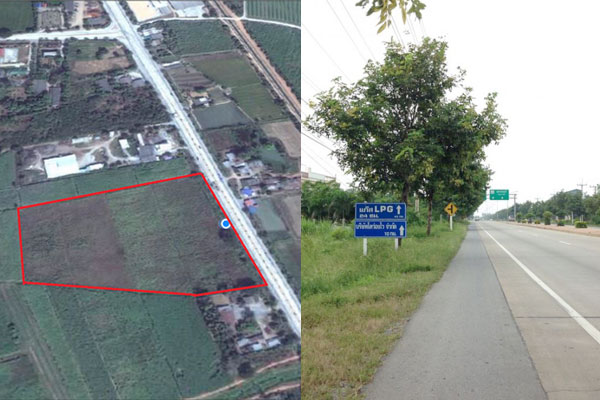 ที่ติดถนนขายด่วน,ที่ดินติดถนน321,ถนนมาลัยแมน-สุพรรณบุรี,ที่ดินติดถนนใหญ่,ที่ติดถนน,ที่ติดถนนขายถูก,สุพรรณ